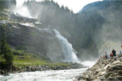 Krimmler Wasserfalle Sommer